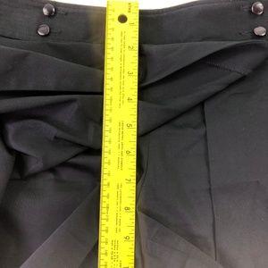 Ann Taylor Factory Skirts - Ann Taylor Women's Black Short Skirt Q429